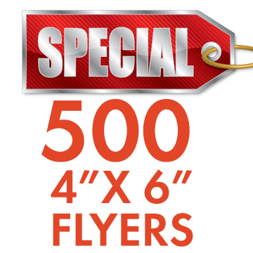 500 4x6 flyers printing services cheapest prices atlanta ga